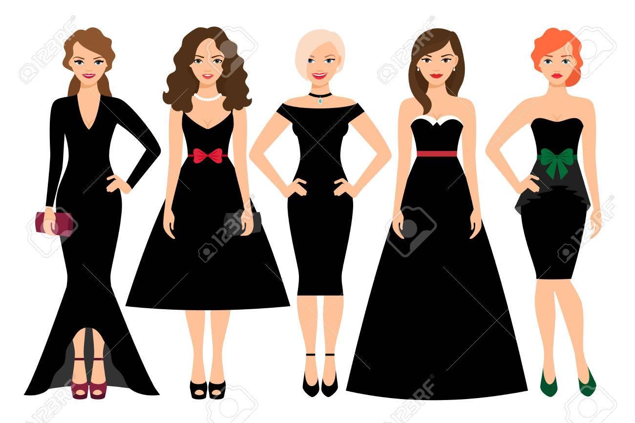 Vestidos negros de mujer