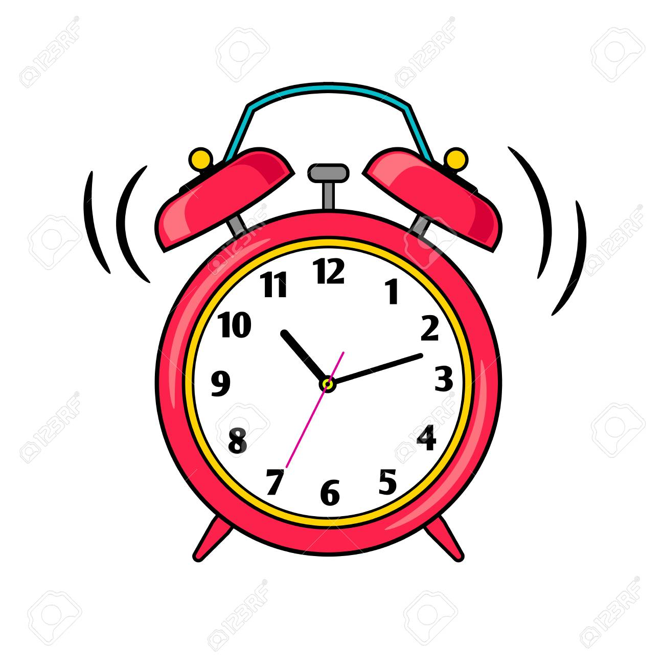 Image result for alrm clock clipart