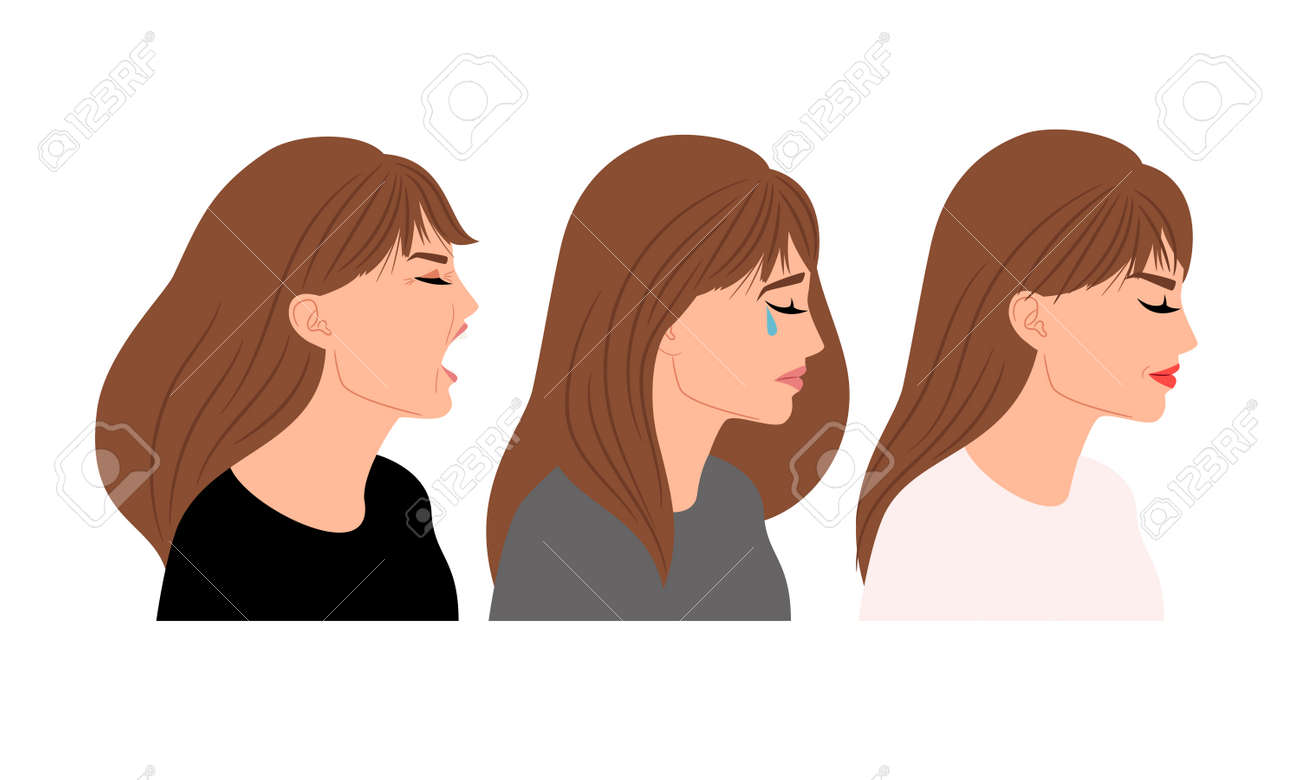 Profiles with different expressions - 171052840