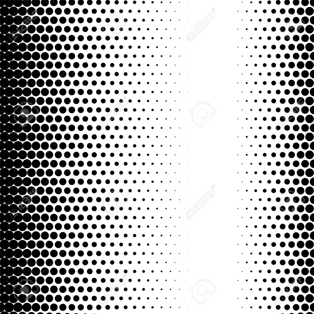 Halftone circle dots gradient texture pattern graphic raster effect - 170995195