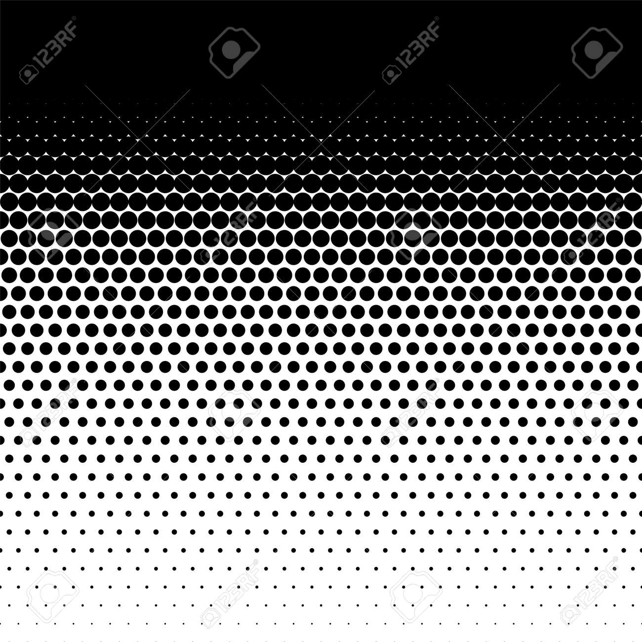 Halftone dots pattern, comic points fade background - 171052335