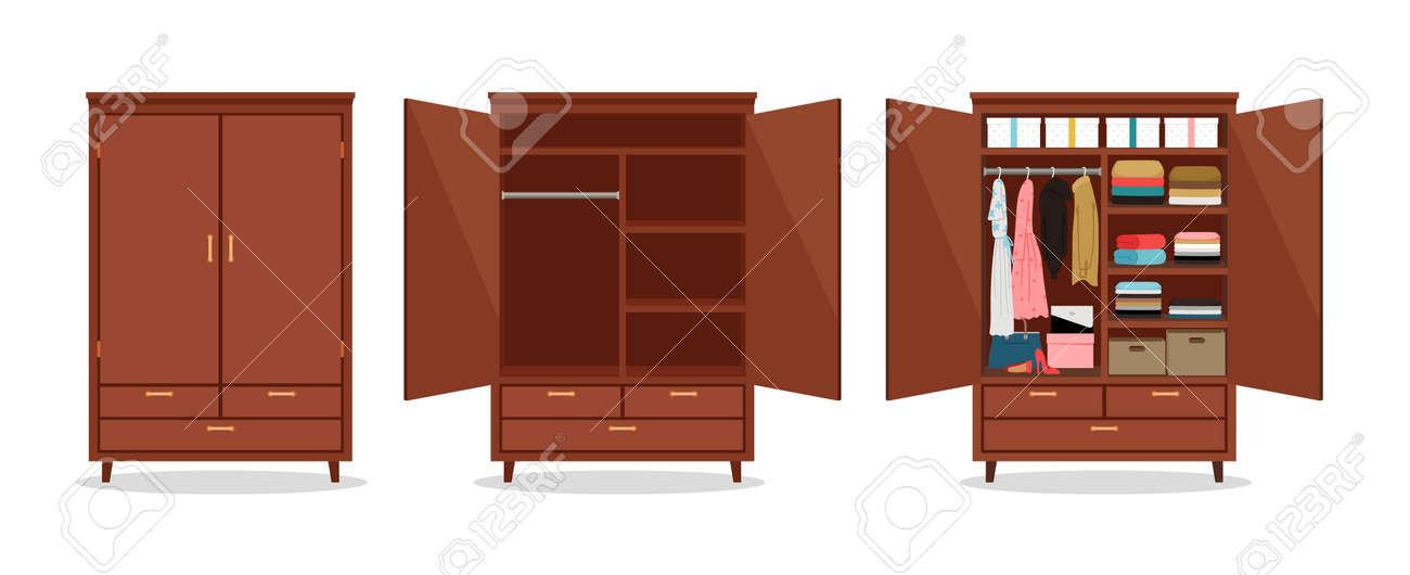Close open wardrobe - 171256680