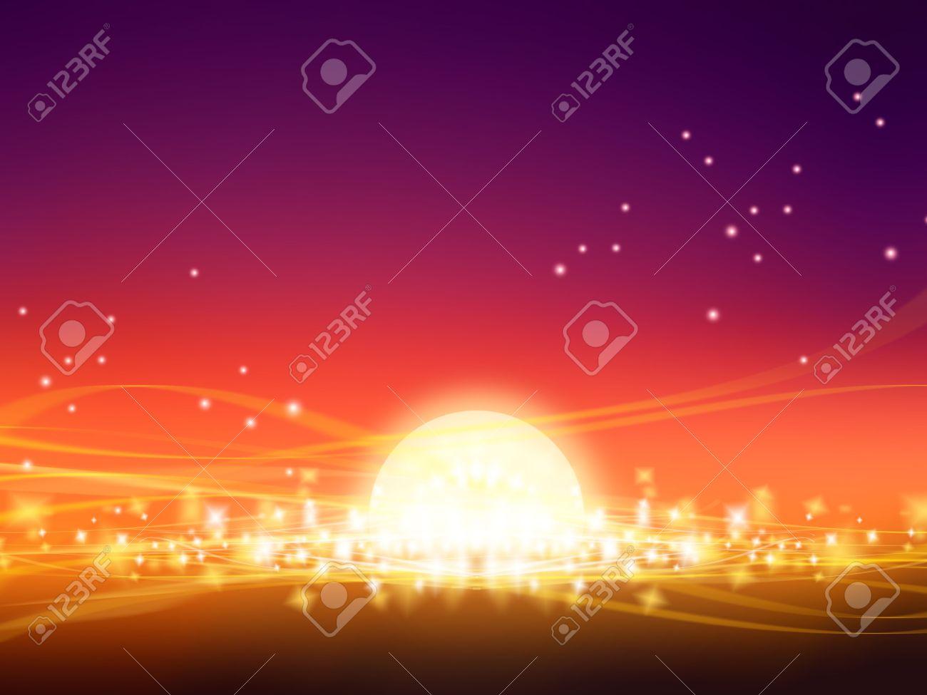 holiday background has shining luminous elements of design Stock Photo - 5804271