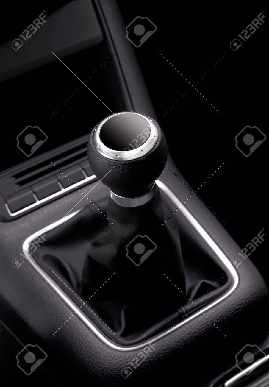 black car stick of expensive car without speeds numerals Stock Photo - 5984254