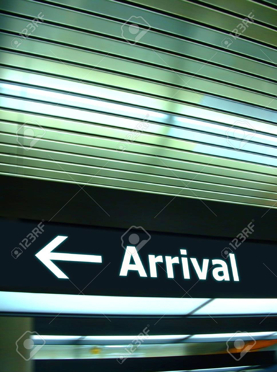 Tourist info signage in airport in international language Stock Photo - 6190253