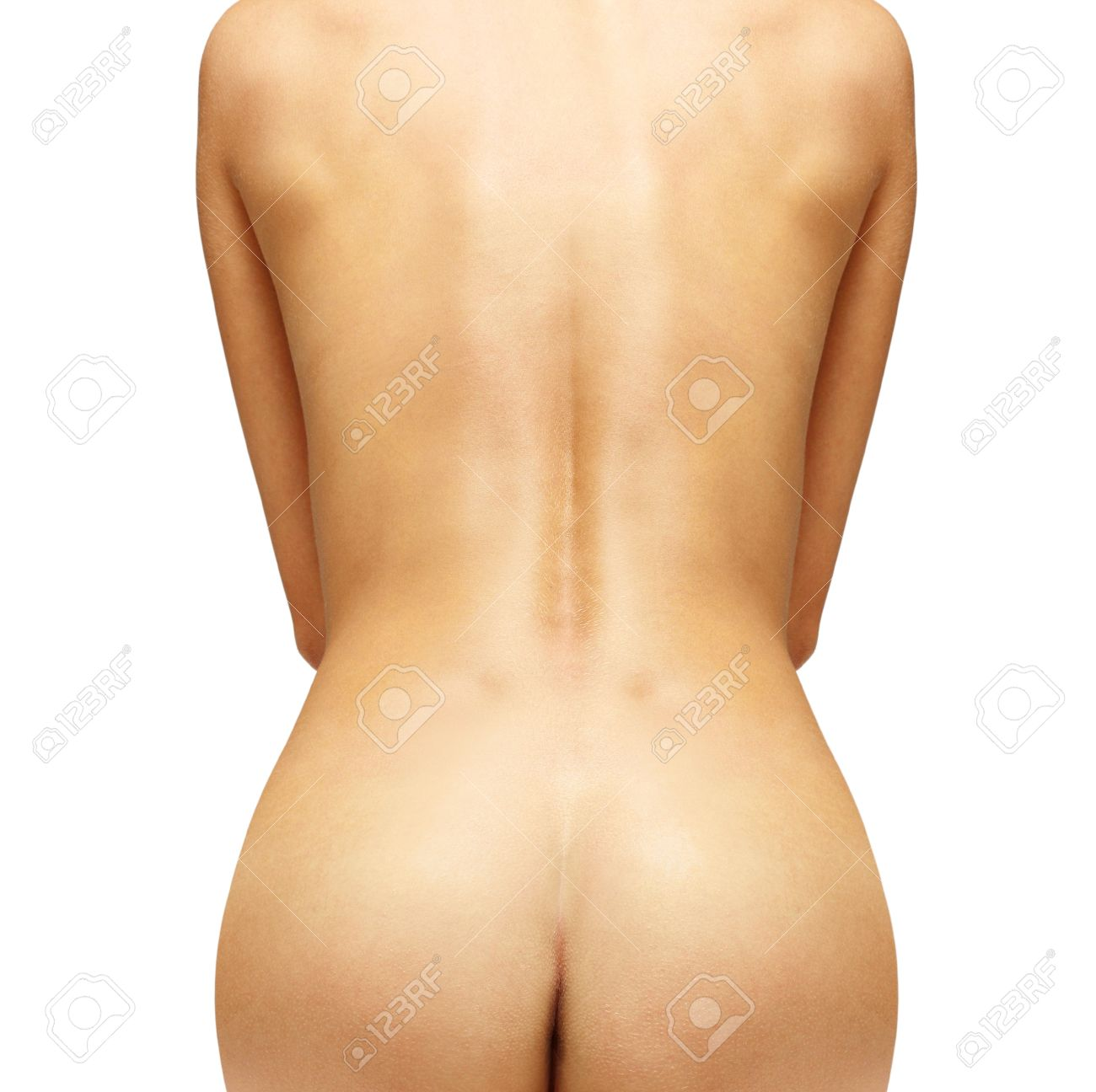 close up of beautiful female back with path Stock Photo - 15100870