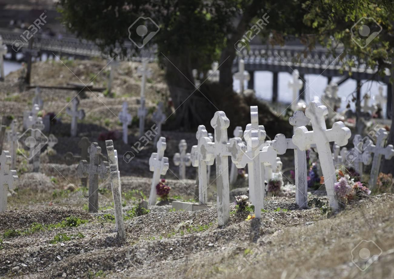 Senegal multireligious cemetery in Joal Fadiouth