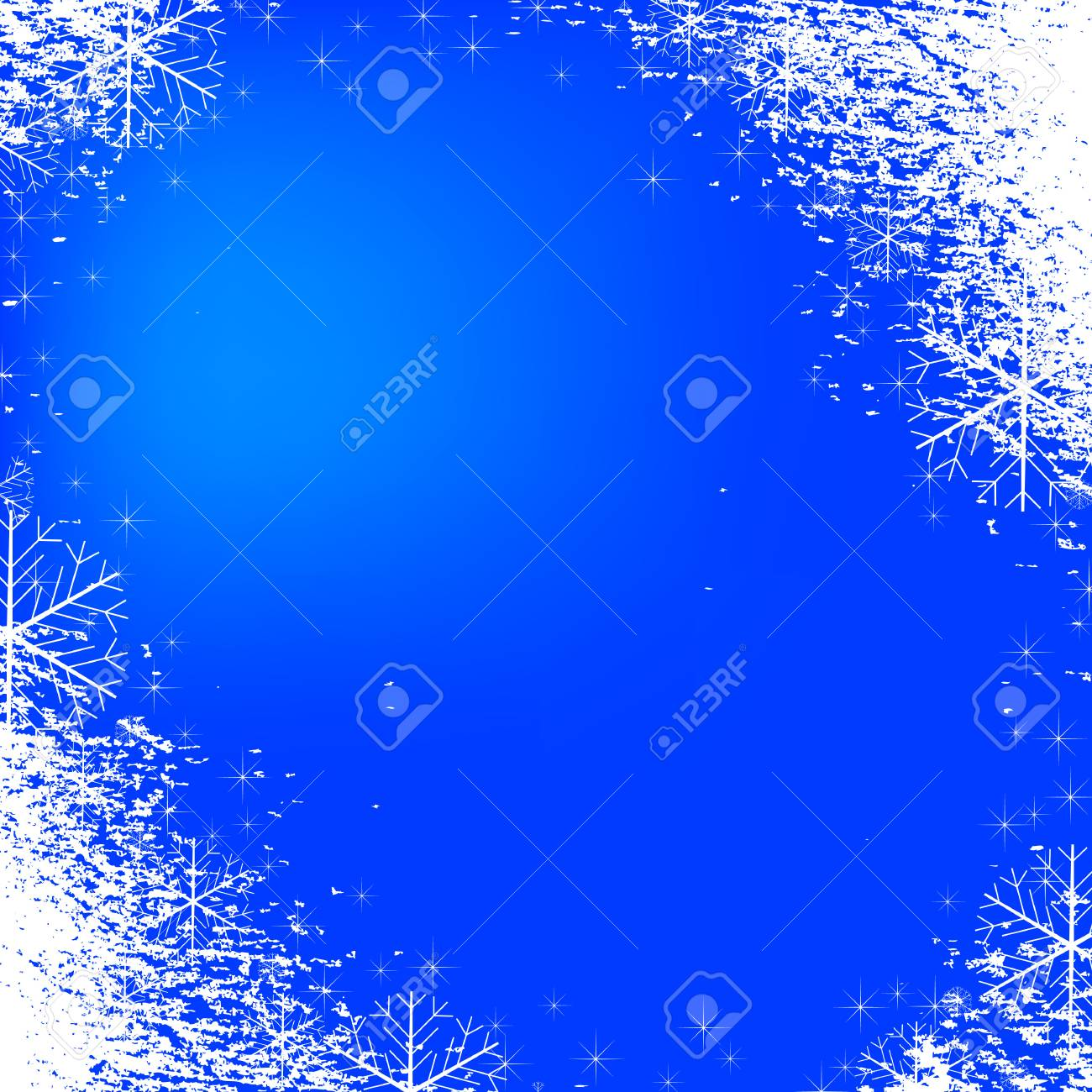 A snowflakes background texture that can be used as a border or edge on your design. All of the flakes in this vector are fully movable. Stock Vector - 5864449