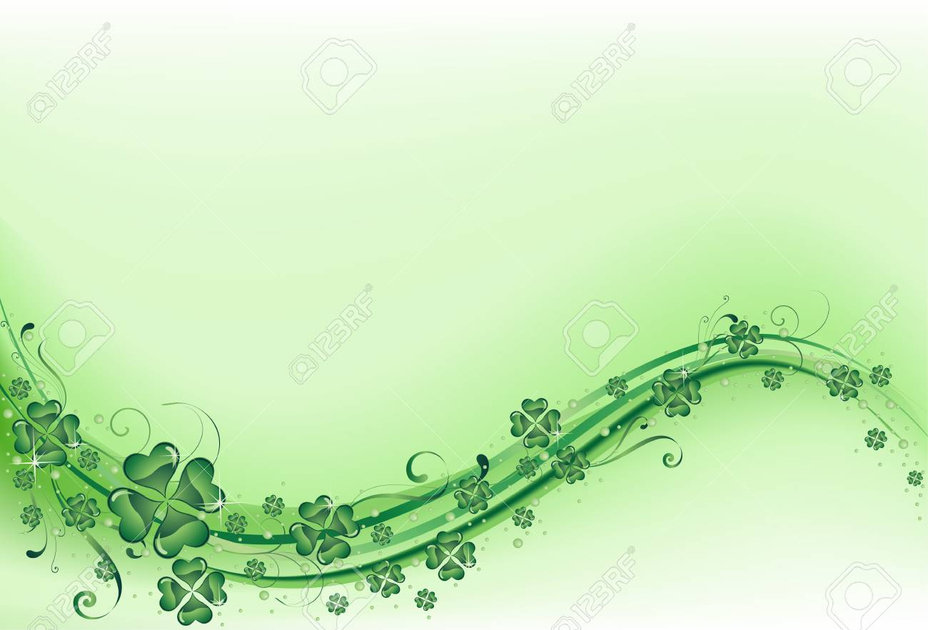 The vector illustration contains the image of St. Patrick's background Stock Vector - 6375169