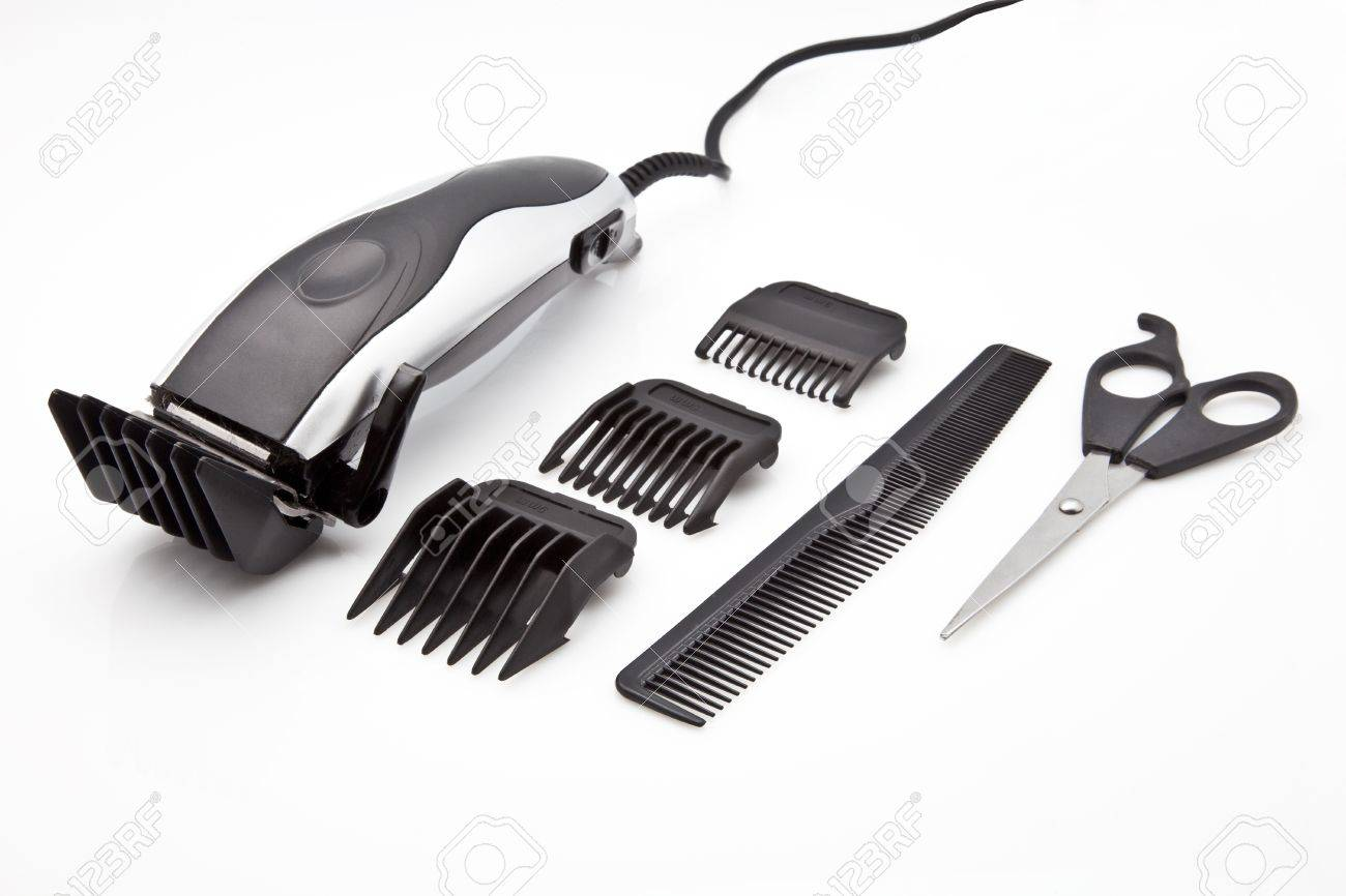 power tool to cut the hair Stock Photo - 12546148
