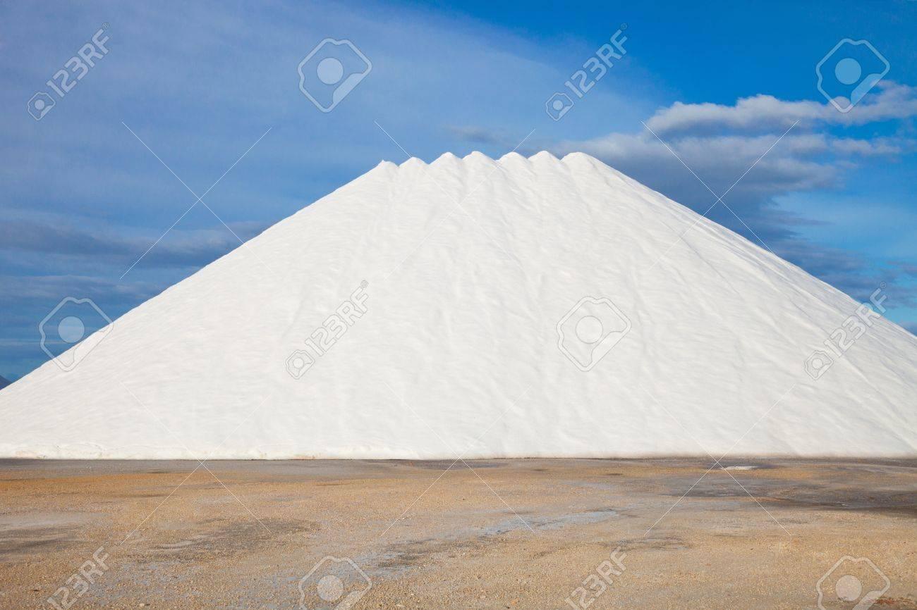 mountains of sea salt stored Stock Photo - 13248585