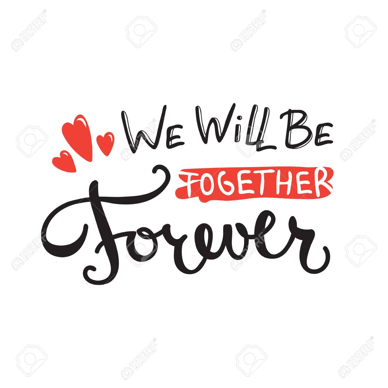 We will be together 10