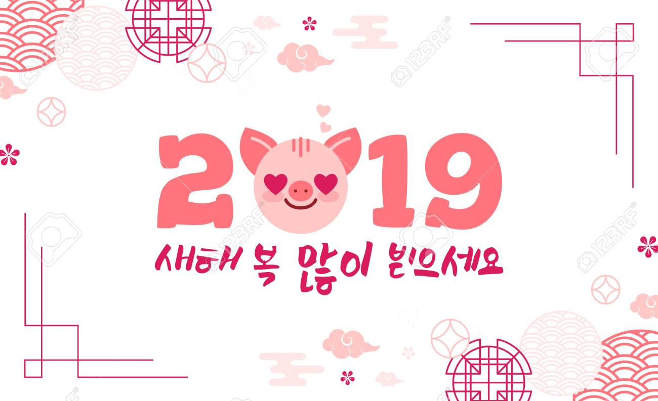 Image result for lunar new year 2019 korea