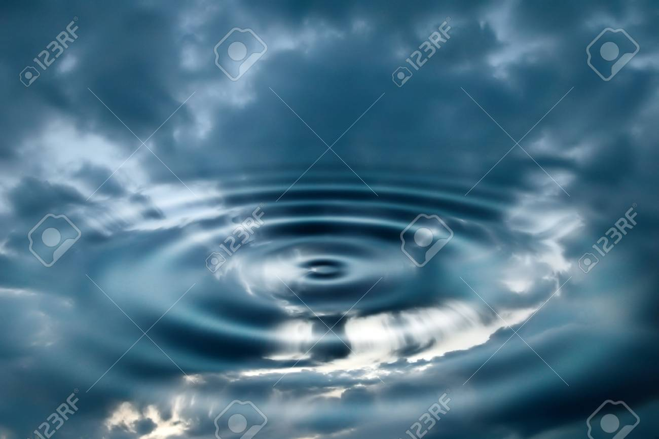 Sky and water abstract Stock Photo - 309182