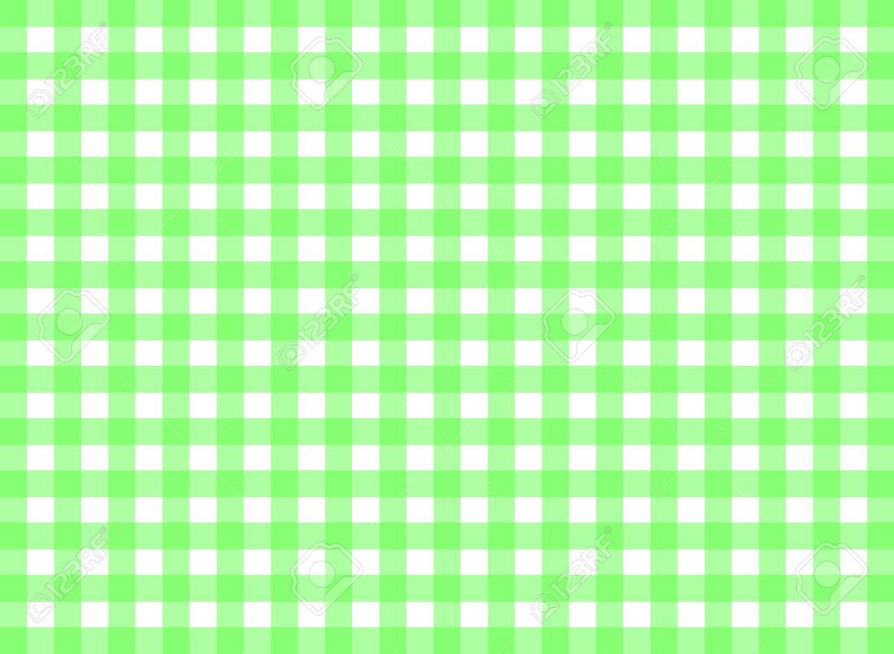Banque Du0027images   Facile Tilable Vichy Vert Motif De Répétition Impression,  Fond Transparent, Papier Peint De Tissu Texture Visible