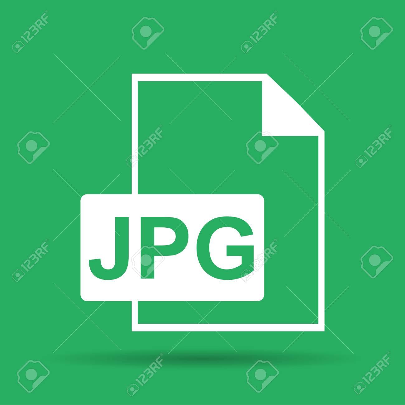 Jpg icon file vector  Flat vector illustrator Eps 10