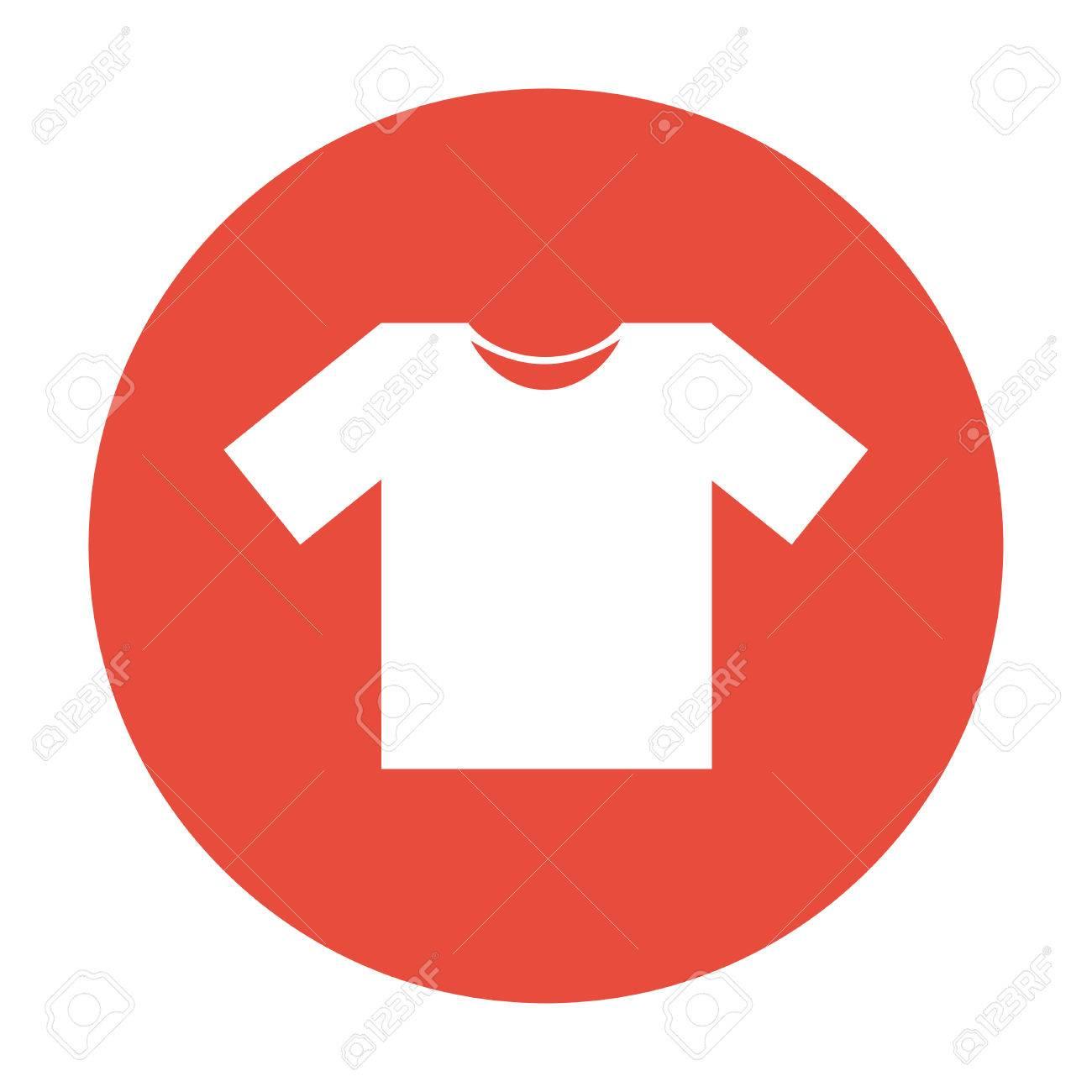 tshirt icon icon illustration flat design style royalty free cliparts vectors and stock illustration image 48894874 123rf com