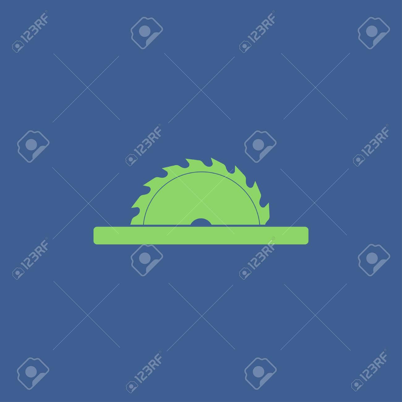 Circular saw blade. Concept illustration for design. - 57894774