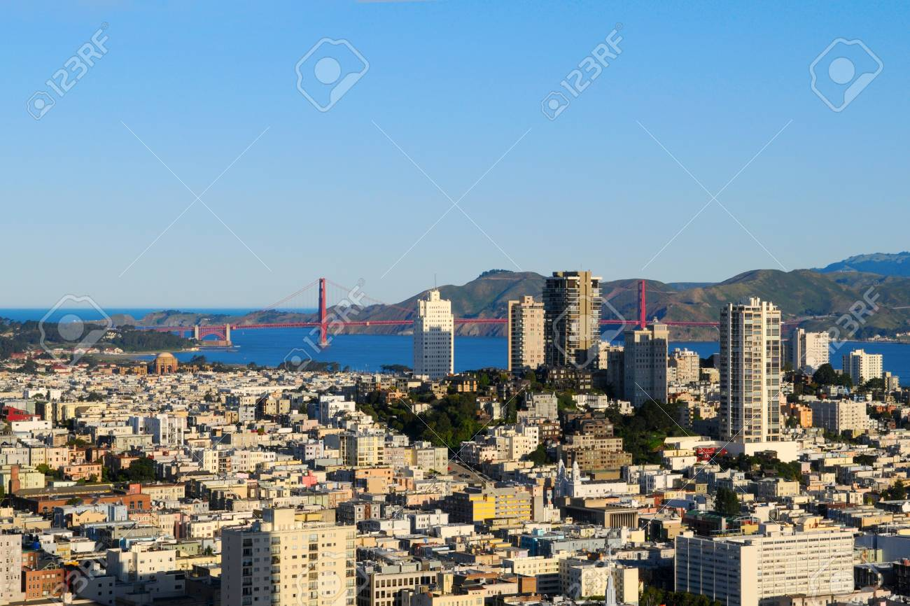 Afternoon in Downtown San Francisco, US Stock Photo - 17805361