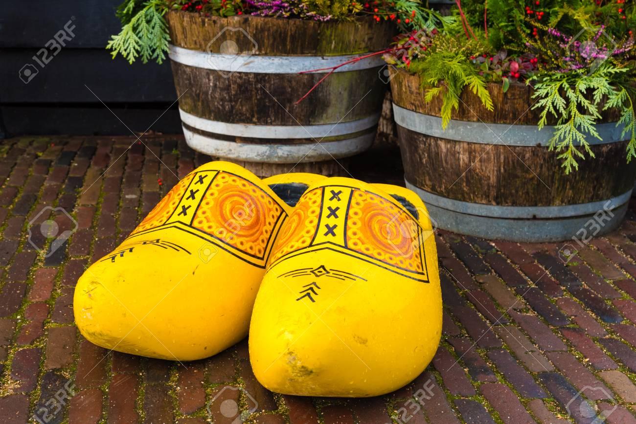 Zaanse Schans Netherlands January 10 2017 Traditional Handmade