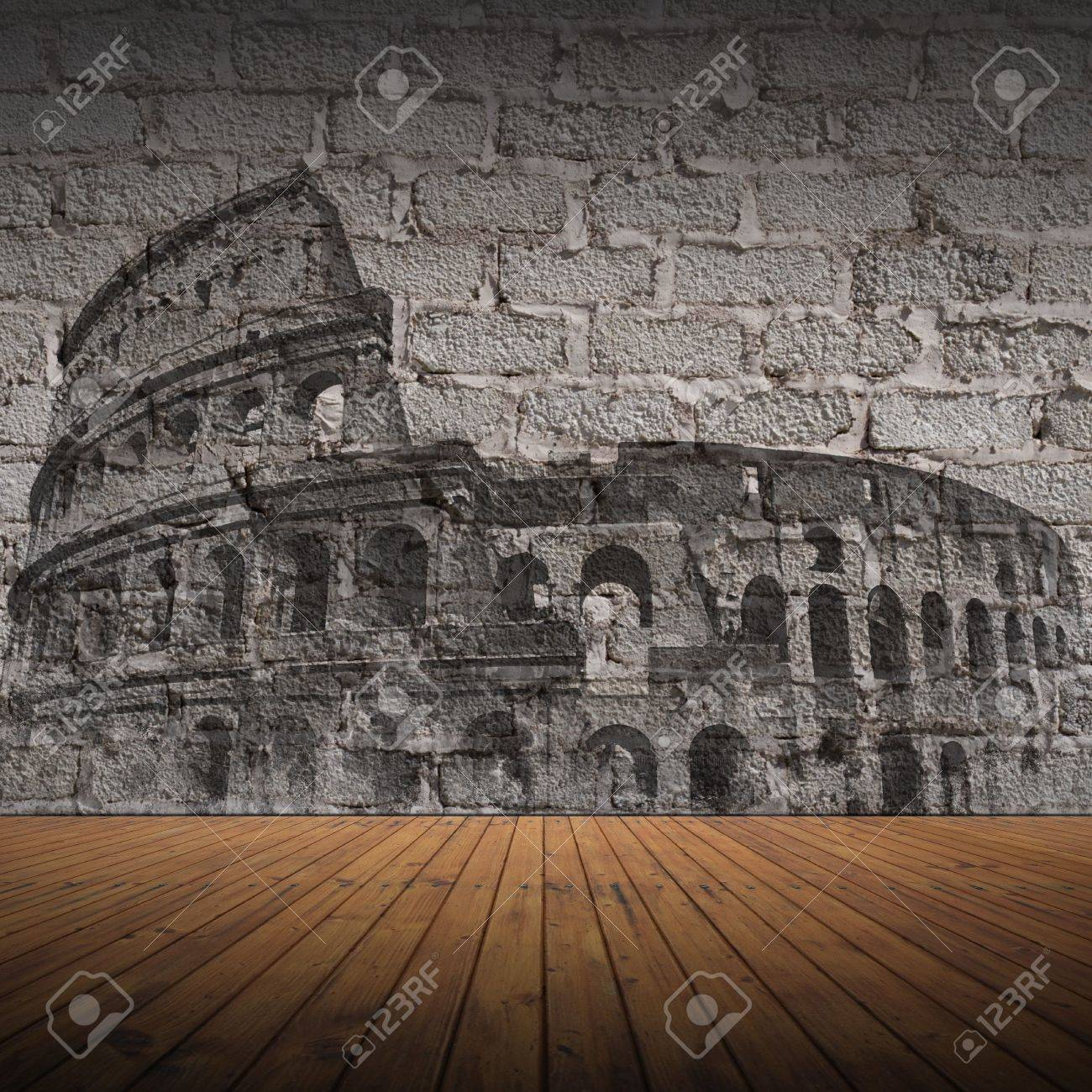 Grunge wall, background, texture, italy Stock Photo - 6744880
