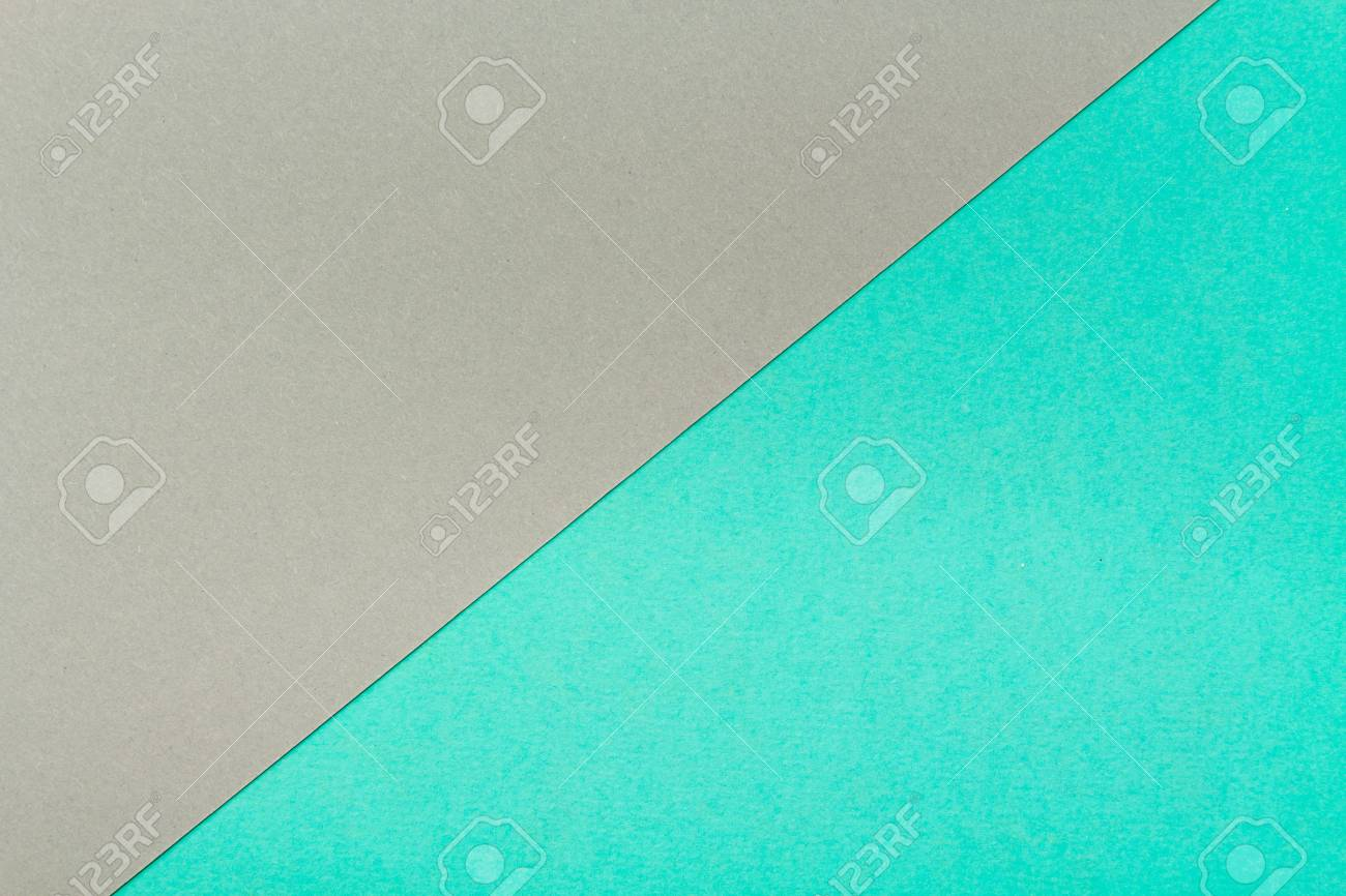 Turquoise And Gray Steel Color Cardboardpaper Cardboard Texture