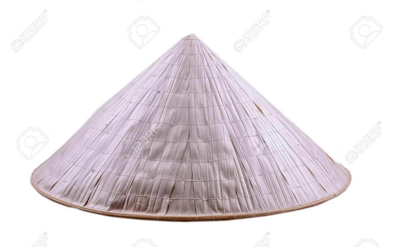 Vietnamese hat isolated on white background - 154783528