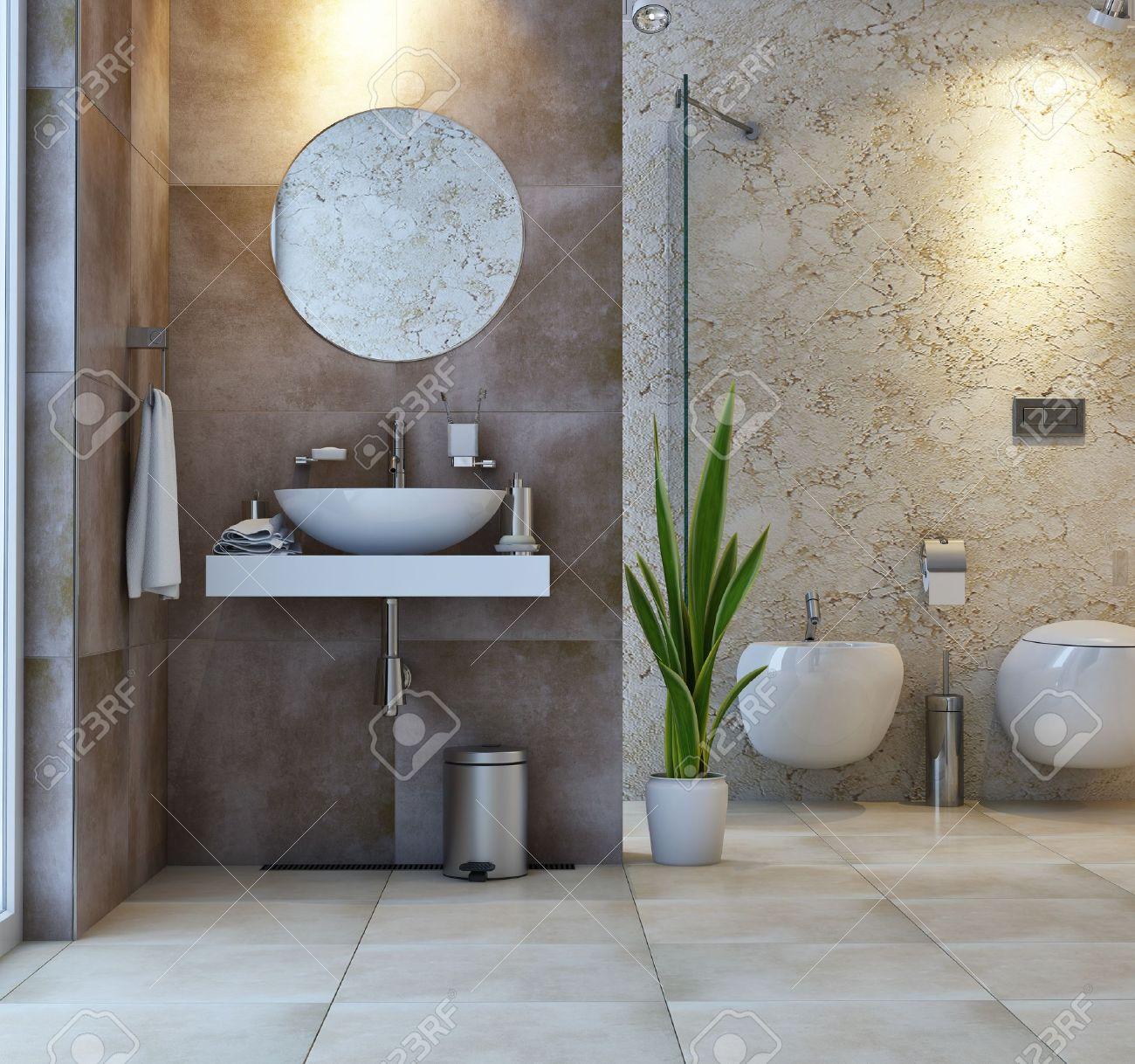 Toilet Interior Design interior bathroom scene stock photo, picture and royalty free