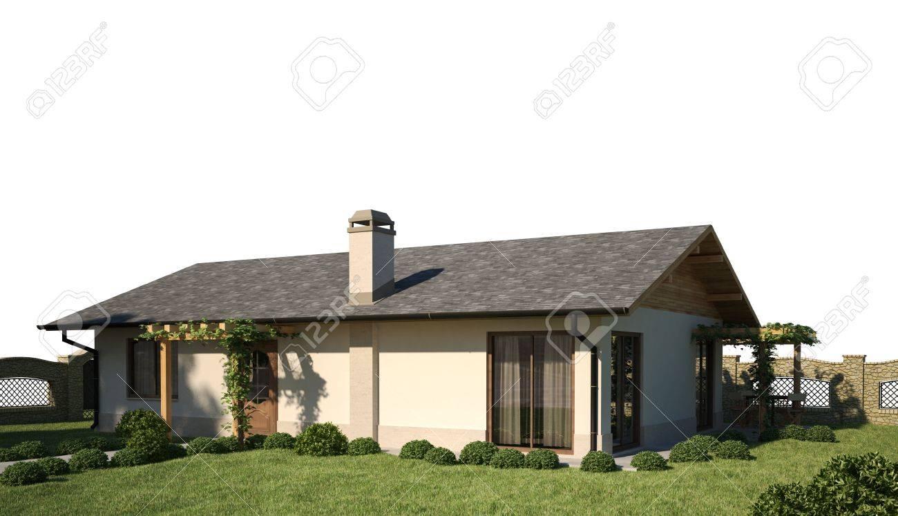 D huis exterieur scène royalty vrije foto plaatjes beelden en