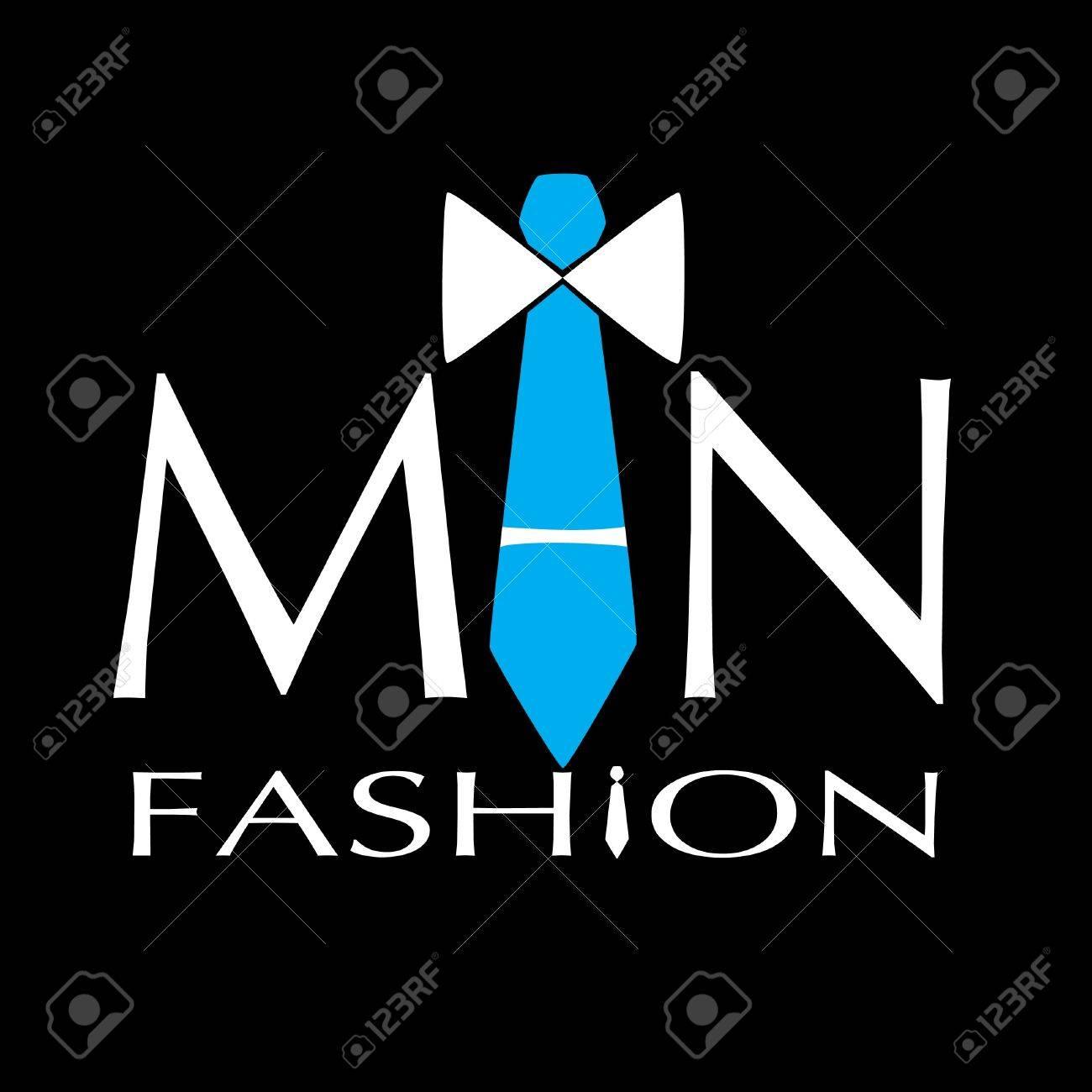 man fashion vector logo - 17513850