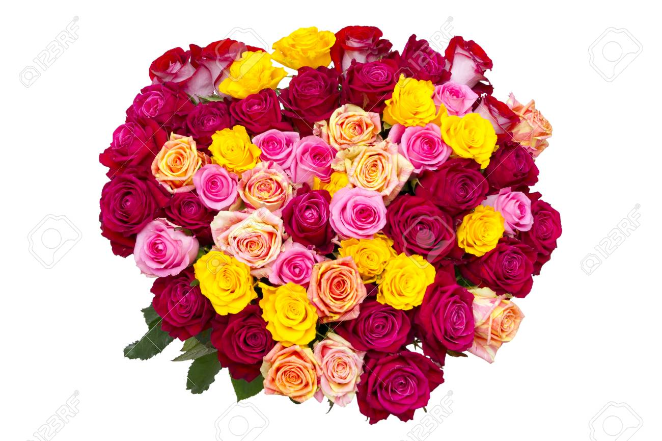 Bouquet Of Roses Gift For Valentine S Day Flowers In The Shape