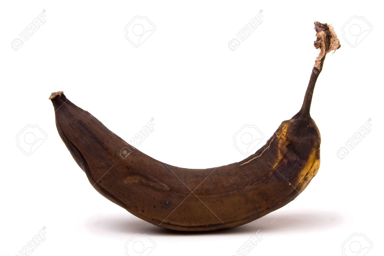 6686688-Brown-Over-Ripe-Banana-isolated-against-white-background--Stock-Photo - Ipagawas Ang Inyung Gibati - Anonymous Diary Blog