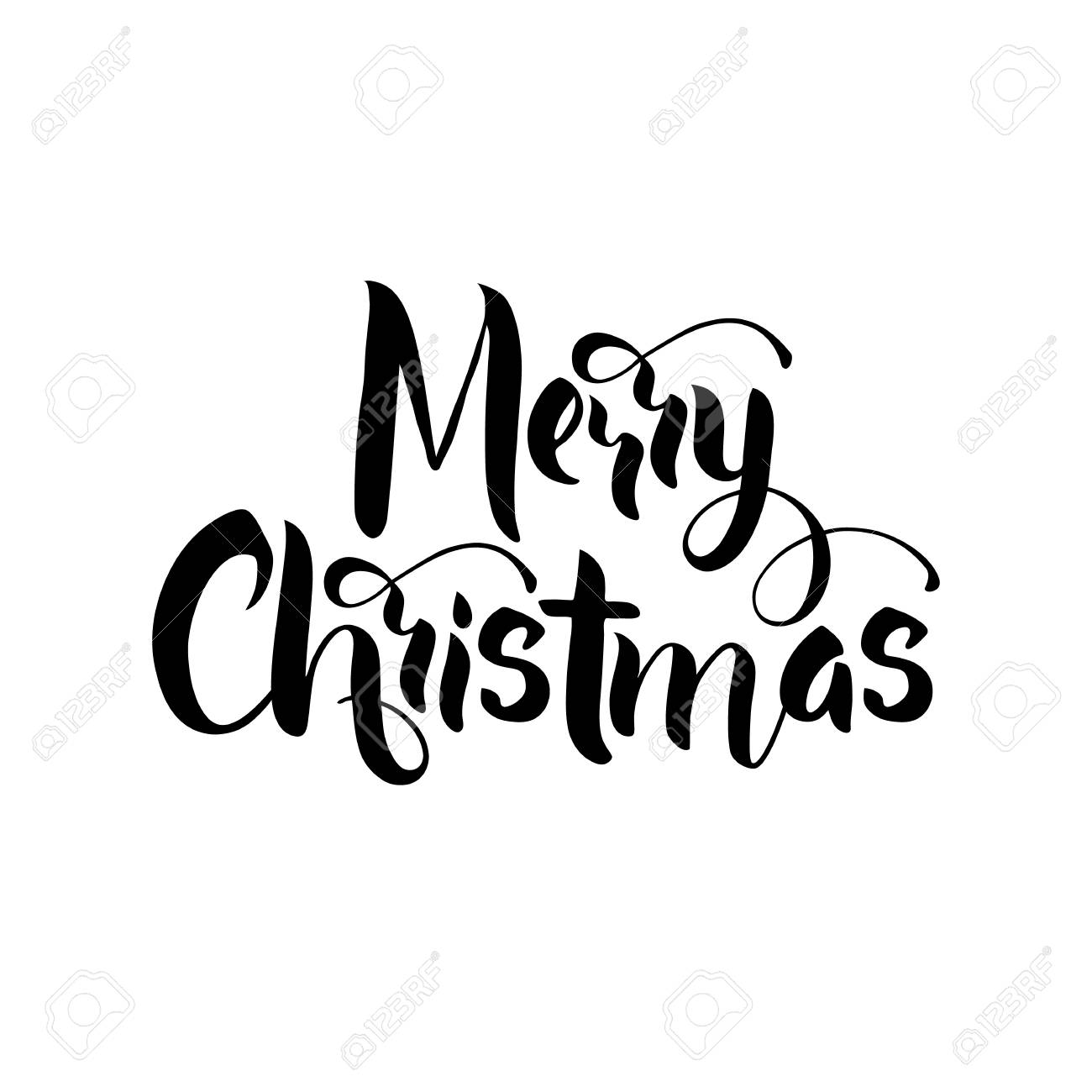 Schriftzug Frohe Weihnachten.Stock Photo