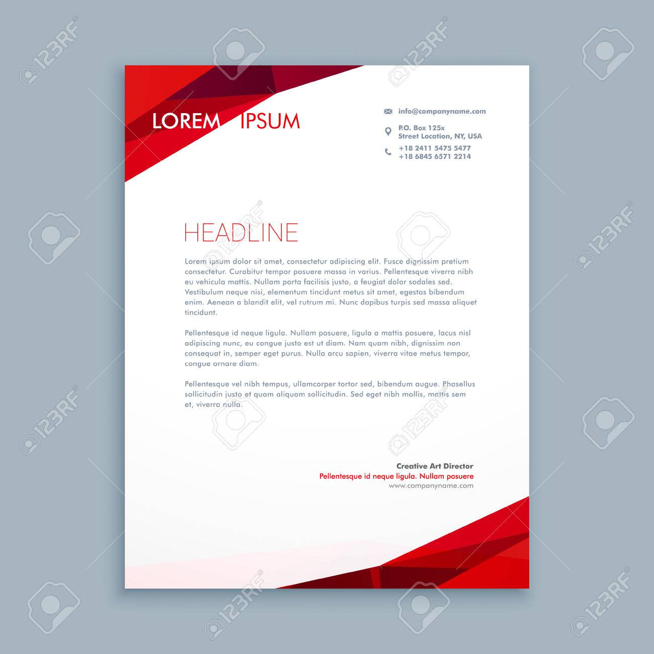 Abstract letterhead template royalty free cliparts vectors and abstract letterhead template stock vector 55397893 spiritdancerdesigns Image collections