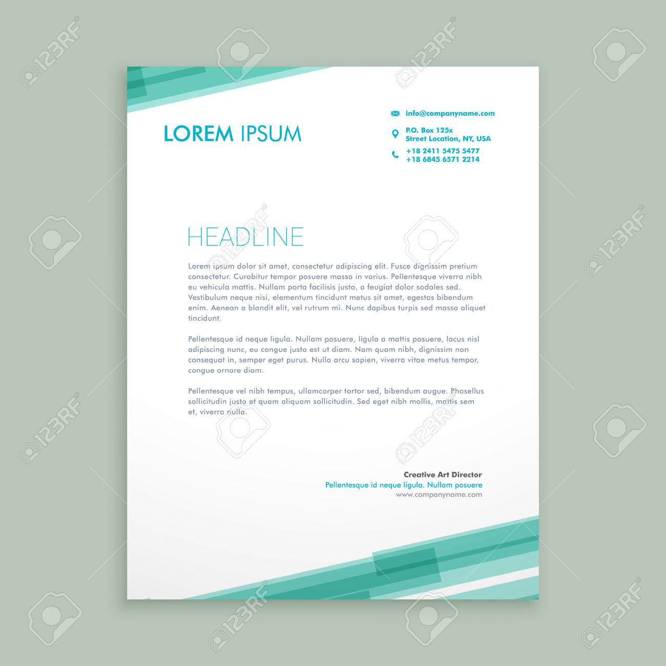 Abstract letterhead template royalty free cliparts vectors and abstract letterhead template stock vector 55398180 altavistaventures Gallery