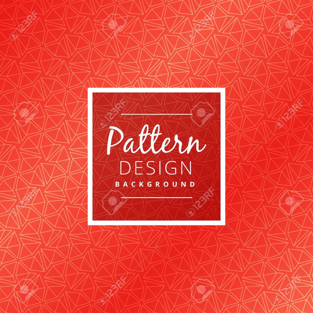 creative red pattern design - 57685879