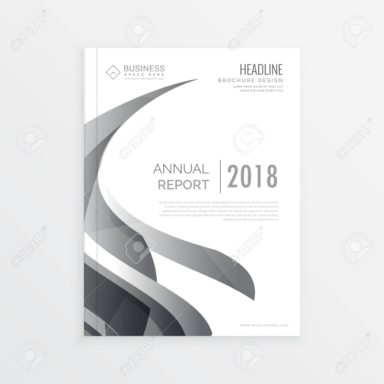 Stylish business magazine cover page template for annual report stylish business magazine cover page template for annual report stock vector 66230318 flashek Gallery