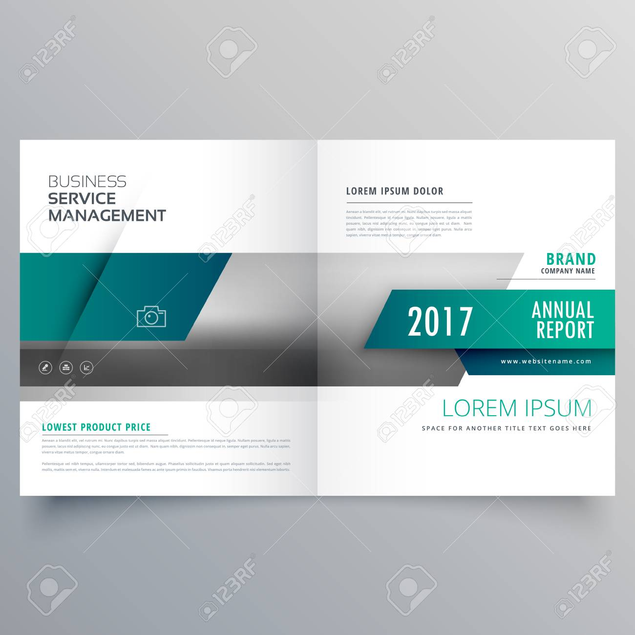 Business Katalog Booklet Deckblatt Layout Design Für Ihre Marke