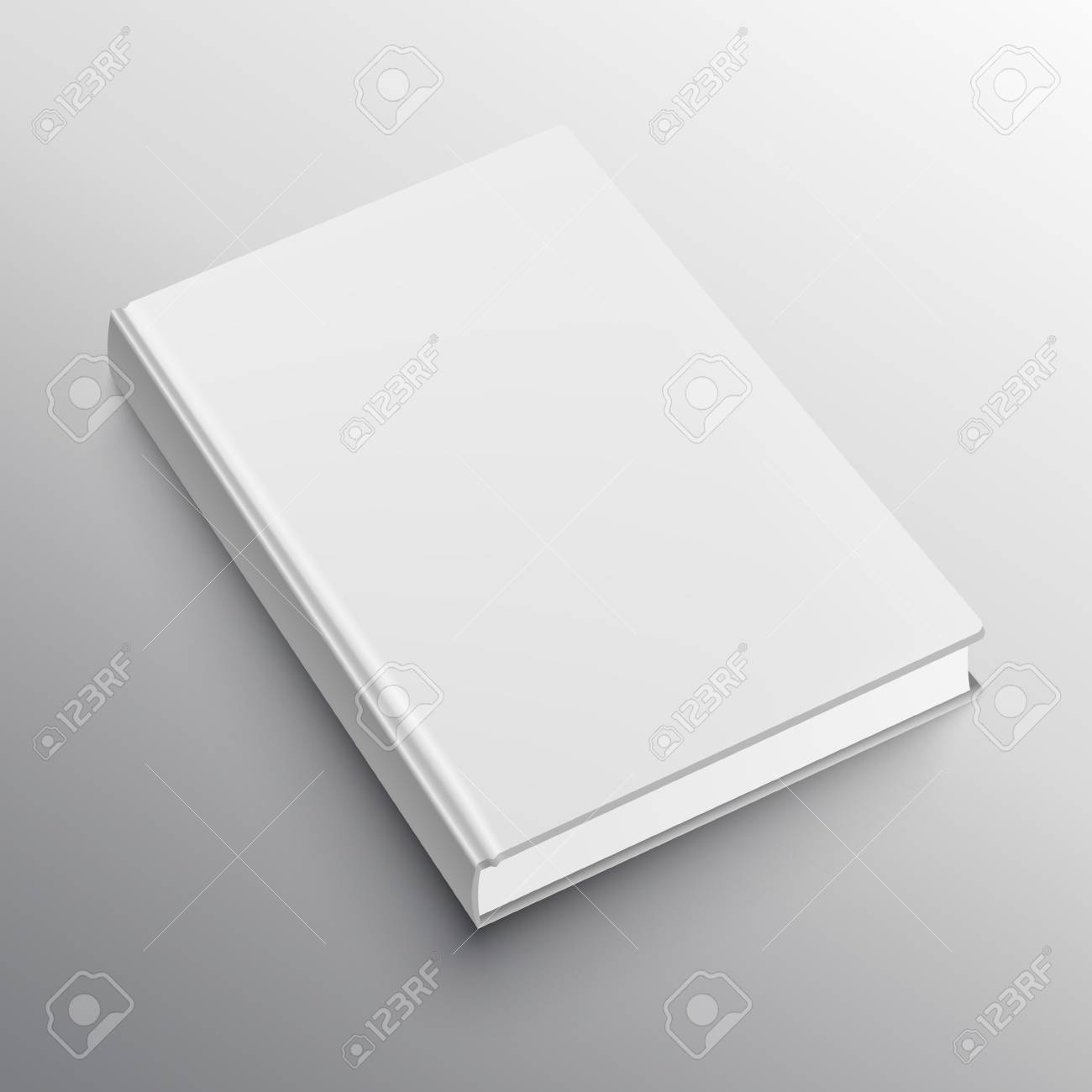 realistic book mockup template royalty free cliparts vectors and