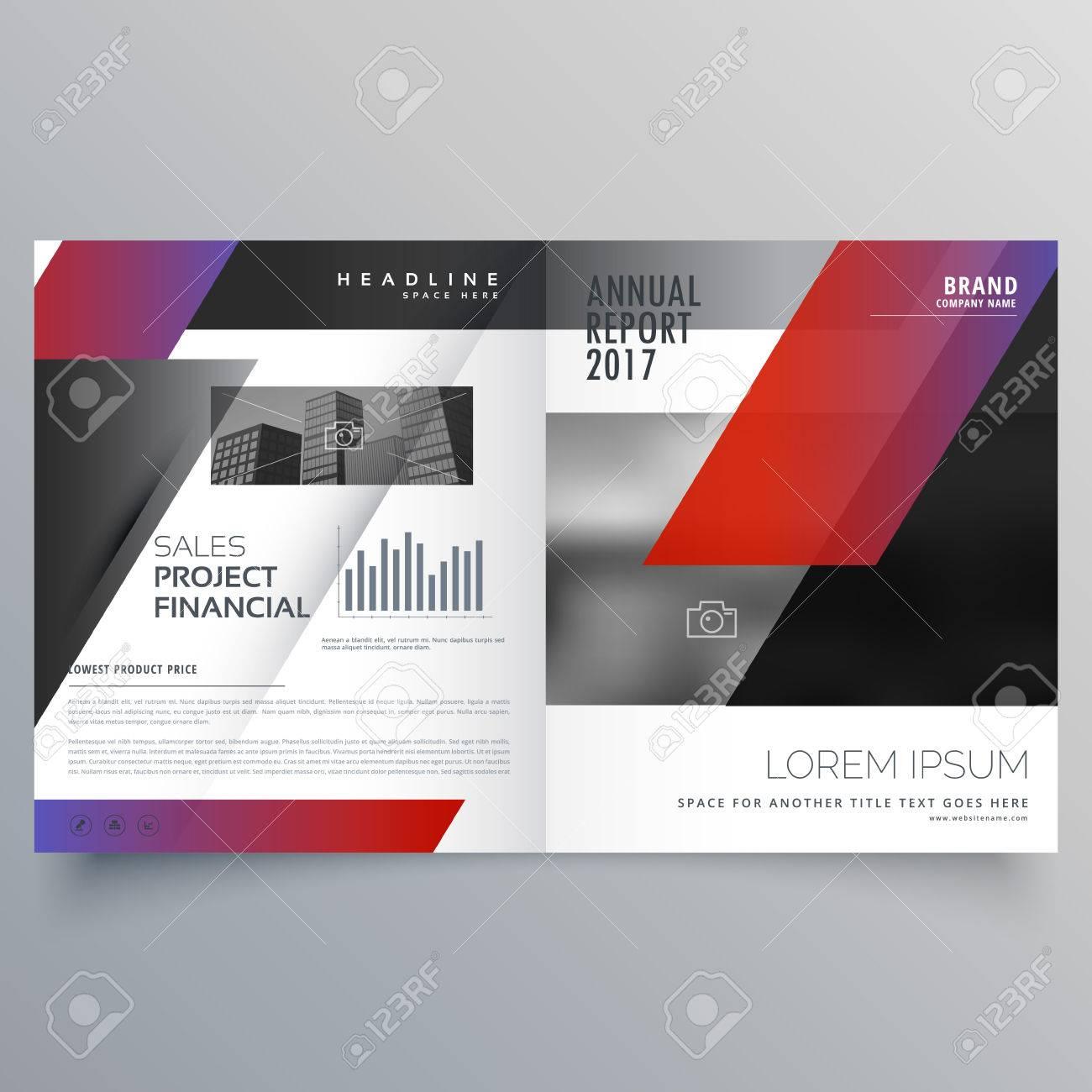 Professional Business Magazine Design Or Bifold Brochure Template - Bifold brochure template