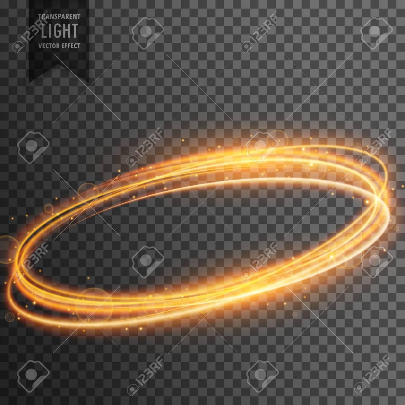 neon transparent golden light effect background - 83430610