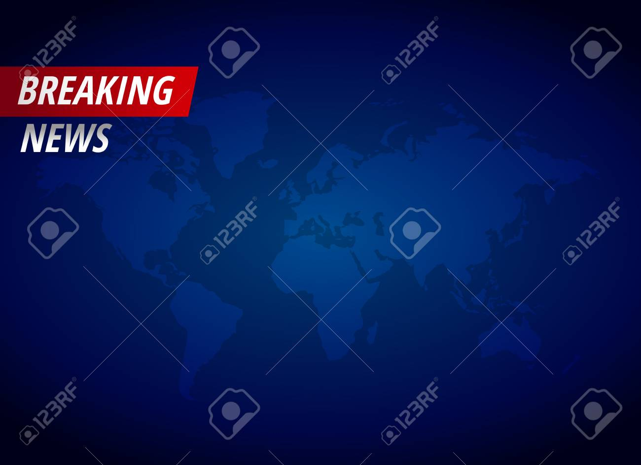 Breaking news background with text space - 97074517