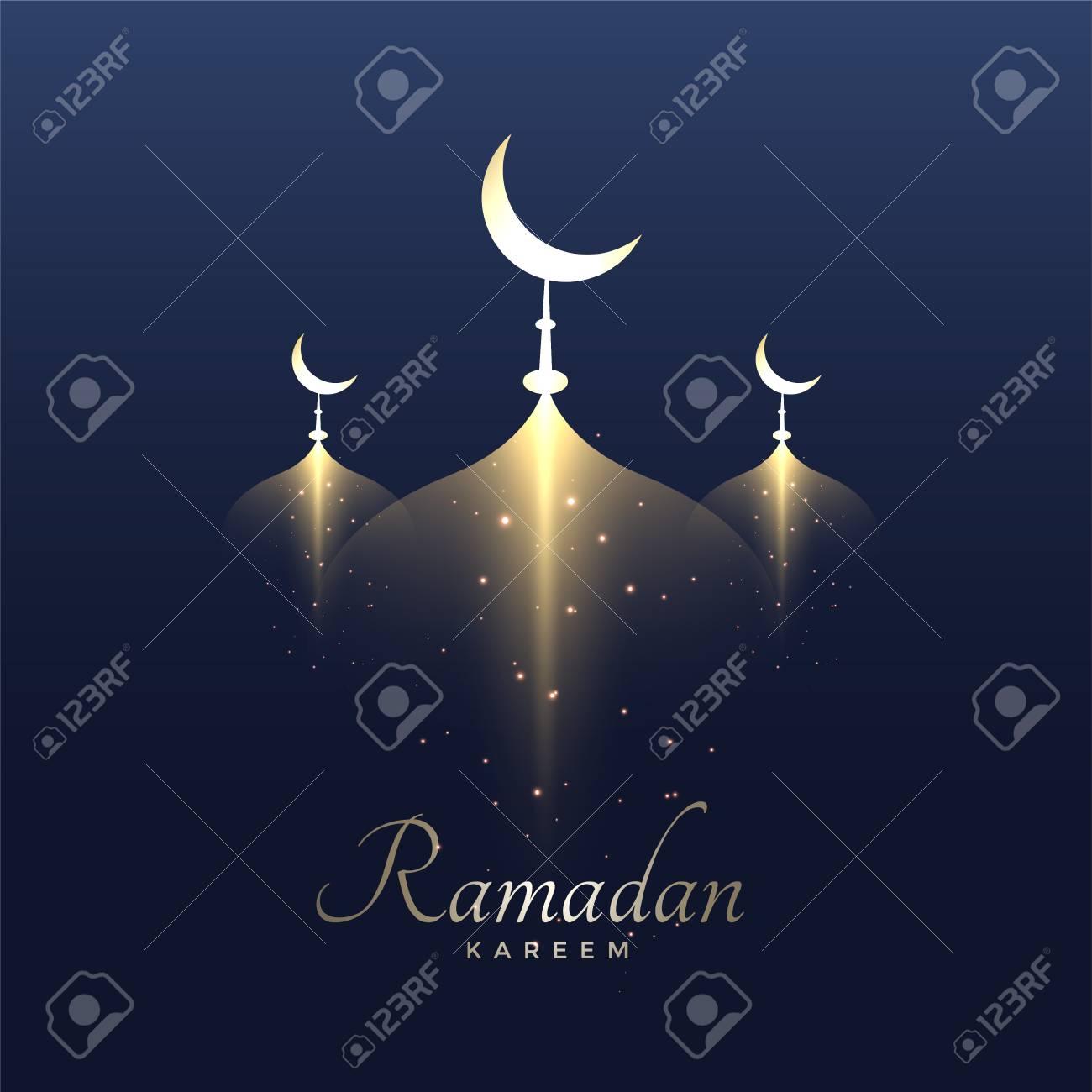 Awesome ramadan kareem design background - 99376209