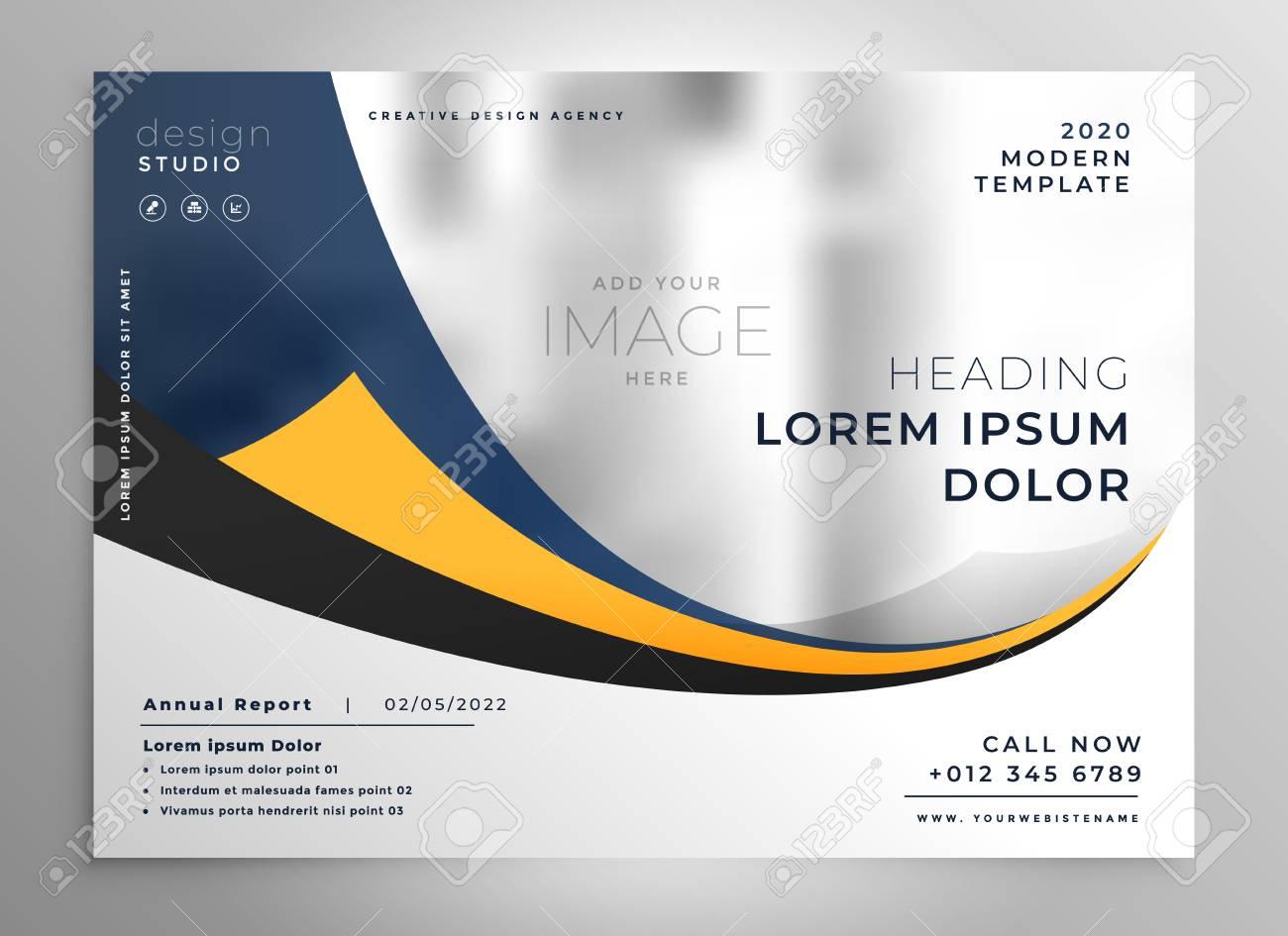 modern business presentation brochure flyer design - 101724200