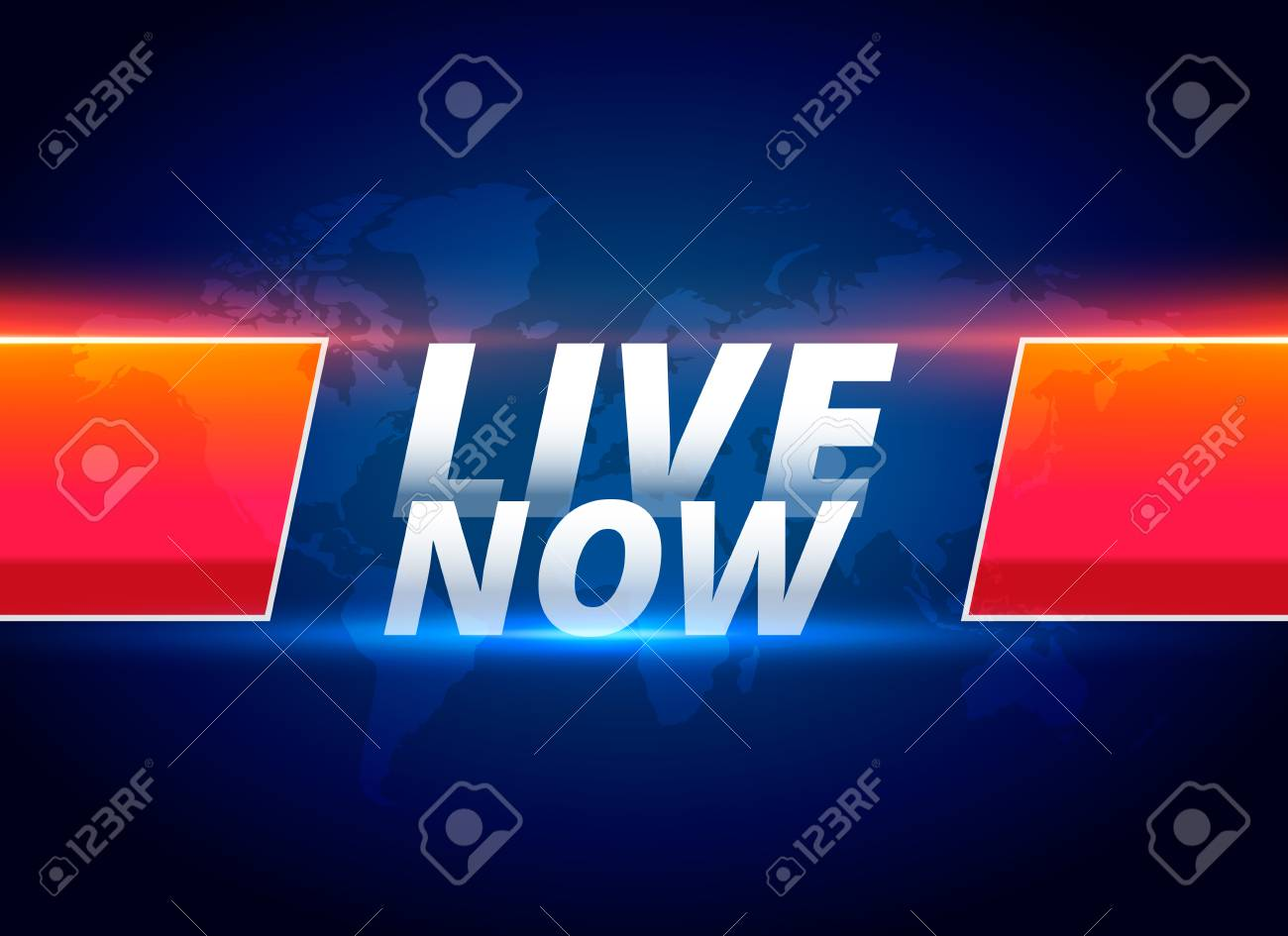 live now streaming news background - 103236127