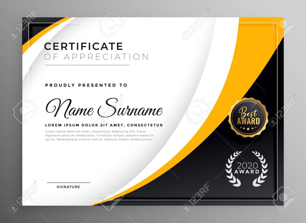 professional certificate template diploma award design - 118731449