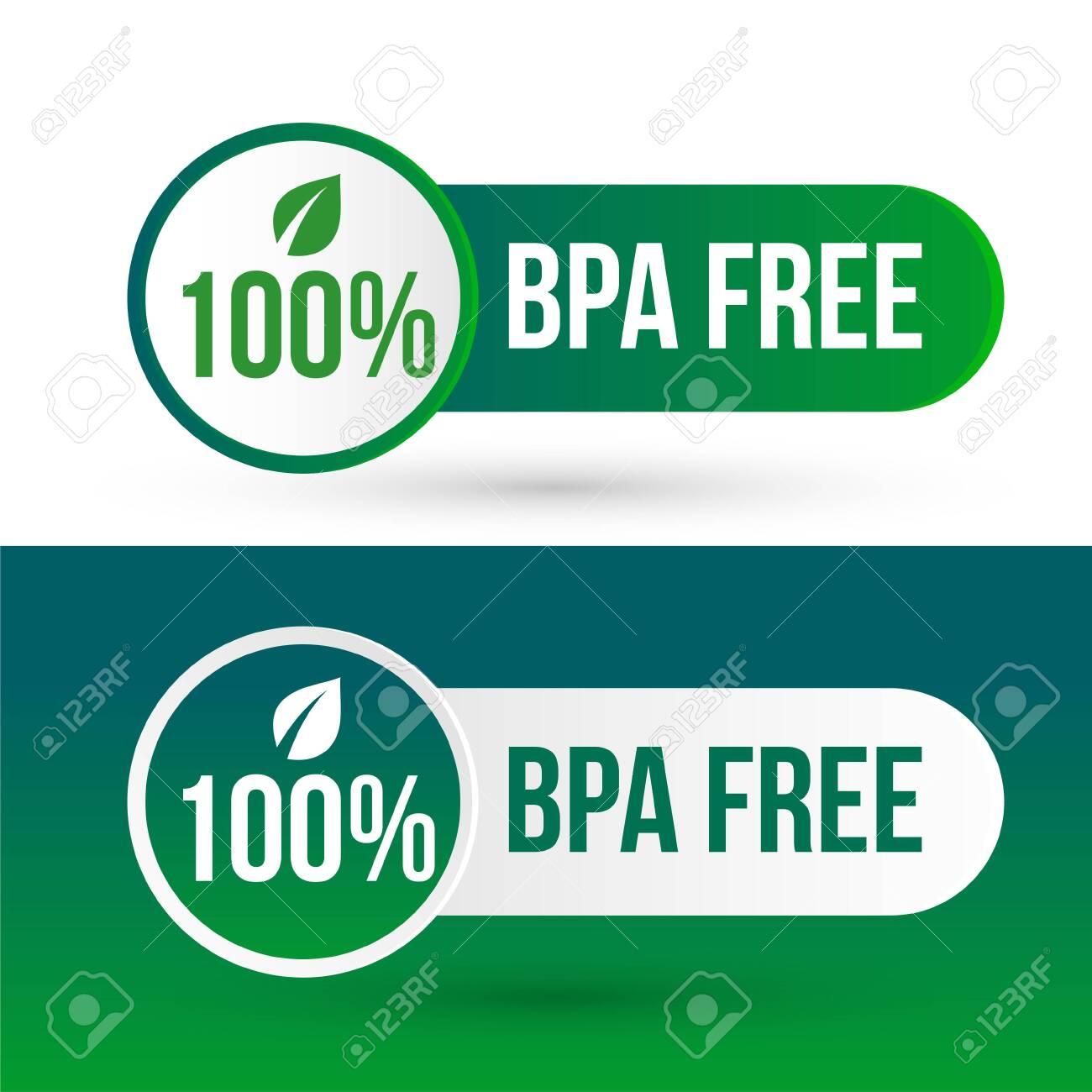 bpa free logo badge icon labels - 122625354