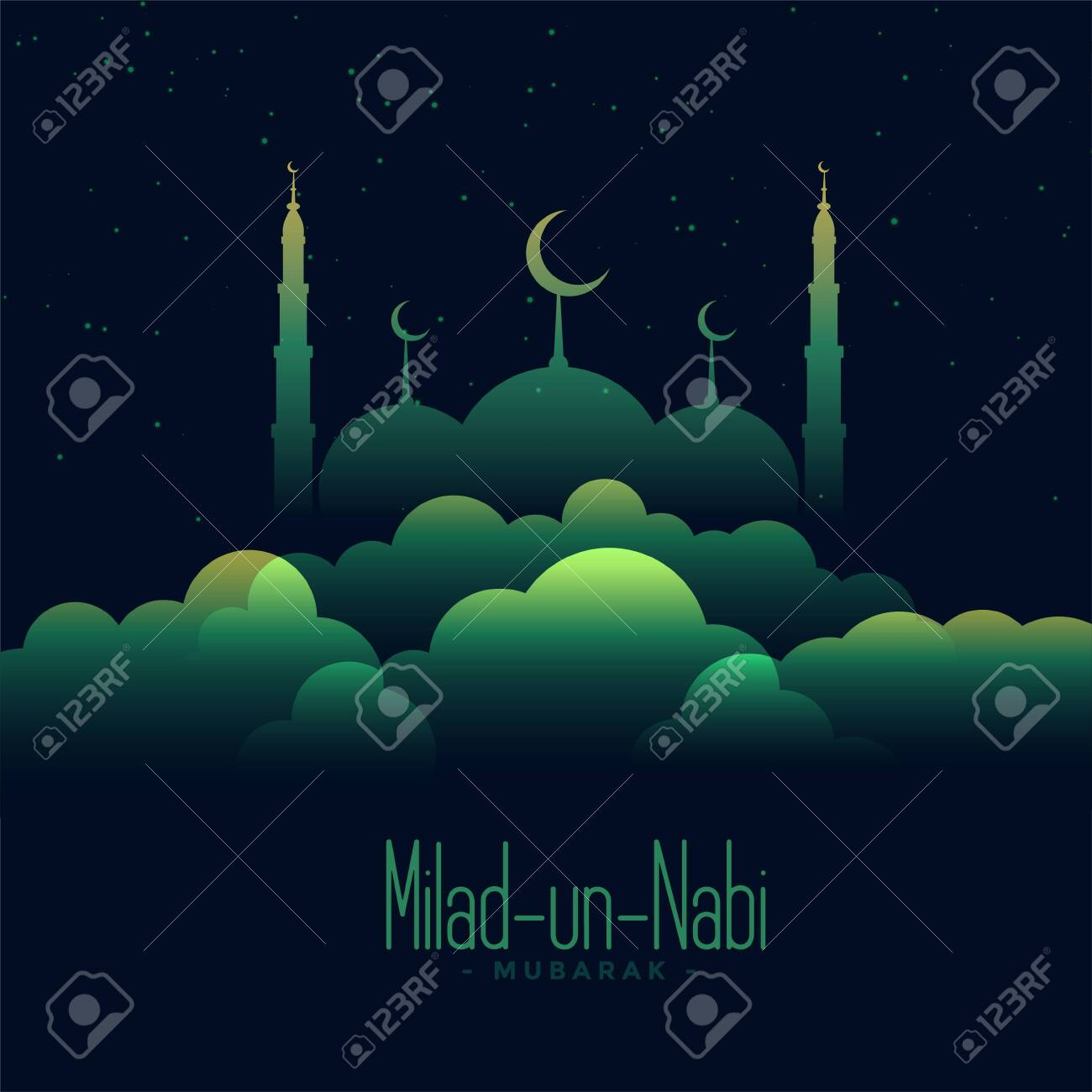 creative background of eid milad un nabi festival royalty free cliparts vectors and stock illustration image 132026576 123rf com