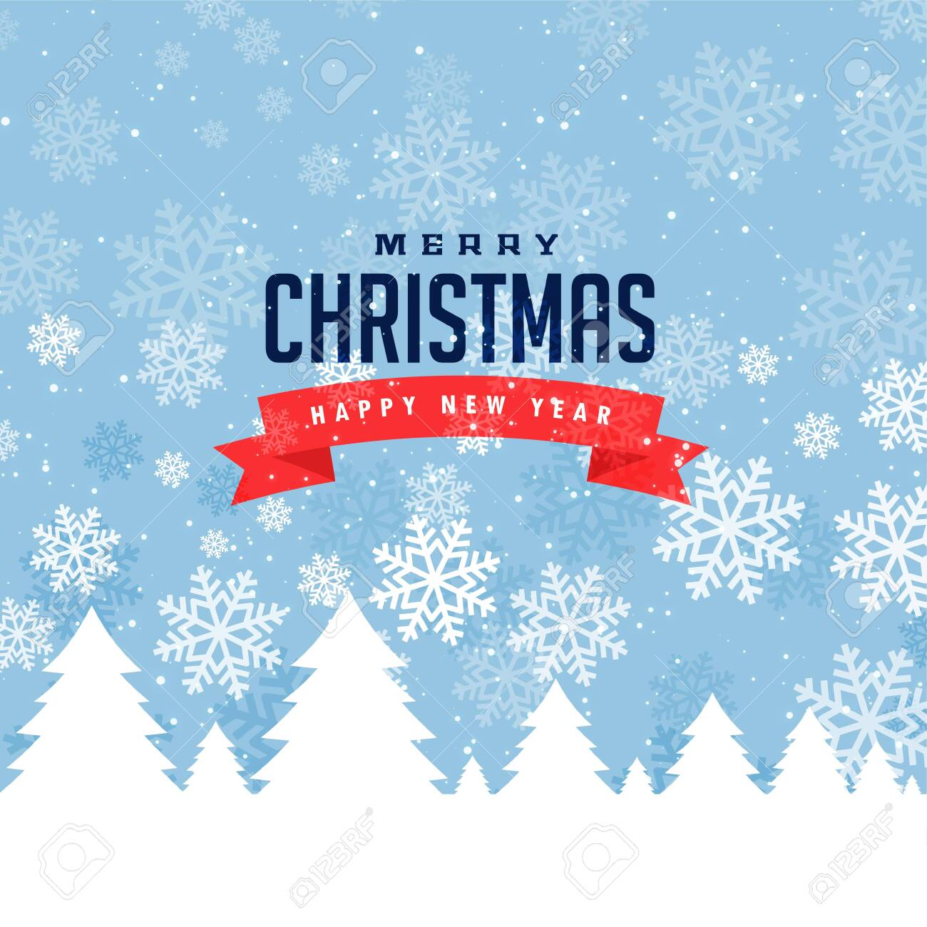 festival greeting for merry christmas and winter season - 133796924