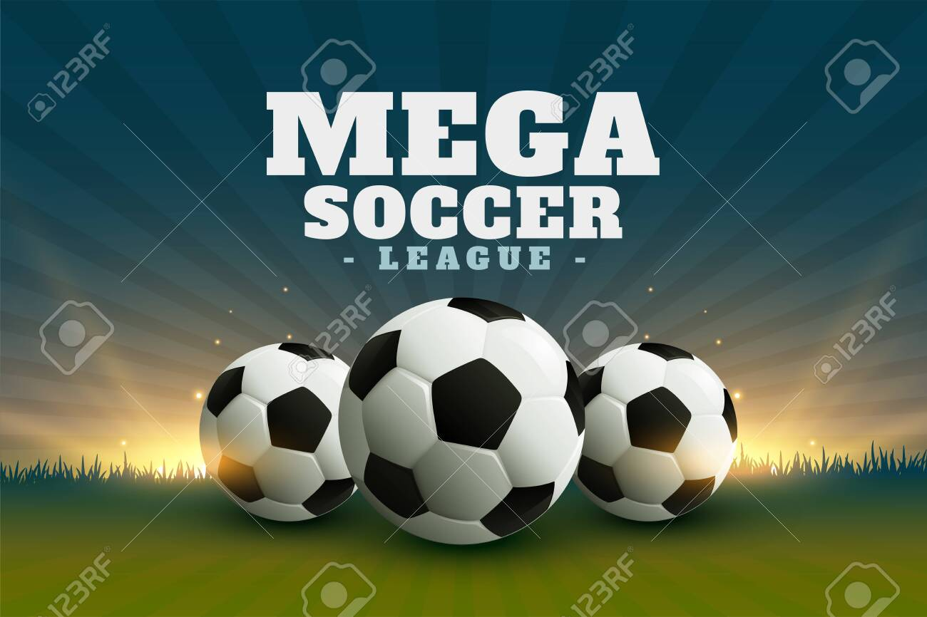 football or soccer league championship background - 141158935